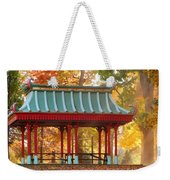Chinese Pavillion In Tower Grove Park Weekender Tote Bag