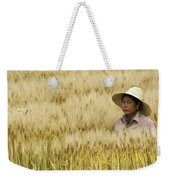Chinese Rice Farmer Weekender Tote Bag