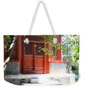 Chinese Temple Garden Weekender Tote Bag