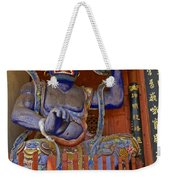 Chinese Temple Guardian Weekender Tote Bag