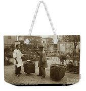Chinese Vegtable Pedler In San Francisco Circa 1880 Weekender Tote Bag