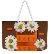 Chinese Wisedom Words Weekender Tote Bag