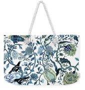 Chinoiserie Blue Weekender Tote Bag