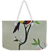 Chinoiserie - Magnolias And Birds #1 Weekender Tote Bag