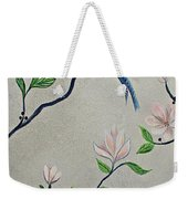 Chinoiserie - Magnolias And Birds #4 Weekender Tote Bag
