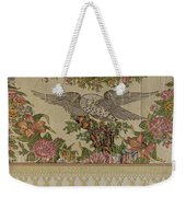 Chintz Valance For Poster Bed Weekender Tote Bag