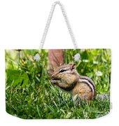 Chipmunk Cutie Weekender Tote Bag