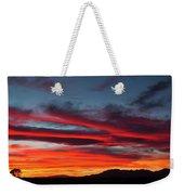 Chiricahua Mountain Sunset Weekender Tote Bag