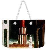 Chirico: Grand Tour, 1914 Weekender Tote Bag