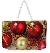 Chirstmas Ornaments Weekender Tote Bag