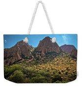 Chisos Mountain Range Weekender Tote Bag
