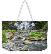Chittenango Falls In Autumn  Weekender Tote Bag