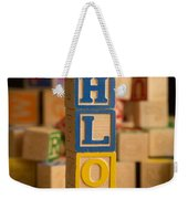 Chloe - Alphabet Blocks Weekender Tote Bag