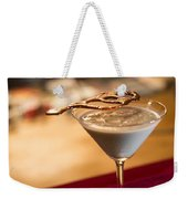 Chocolate And Cream Martini Cocktail Weekender Tote Bag
