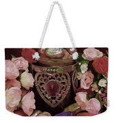 Chocolate And Romance Weekender Tote Bag