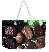 Chocolate Candy Weekender Tote Bag