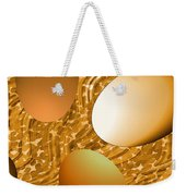 Chocolate Eggs Weekender Tote Bag