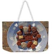Chocolate Weekender Tote Bag