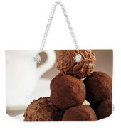 Chocolate Truffles And Coffee Weekender Tote Bag