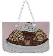 Chocolatey Brownie Sundae Weekender Tote Bag