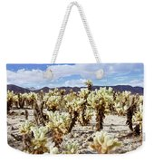Cholla Desert Garden Weekender Tote Bag