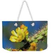 Cholla Flower Op41 Weekender Tote Bag