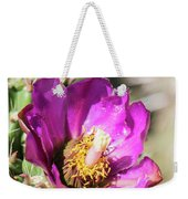 Cholla Flower Weekender Tote Bag