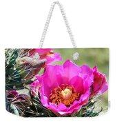 Cholla In Bloom Weekender Tote Bag
