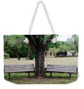 Choose Your Bench Weekender Tote Bag