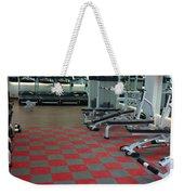 Choosing To Get The Benefits Of Silicone Gym Flooring Weekender Tote Bag