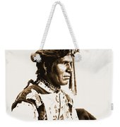 Chopped Up Who Came From A Distance Weekender Tote Bag