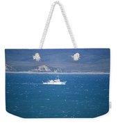 Choppy Drake's Bay Weekender Tote Bag