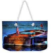 1958 Chris Craft Utility Boat Weekender Tote Bag