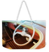 Chris Craft Dreaming Weekender Tote Bag