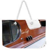 Chris Craft Enclosed Cruiser Weekender Tote Bag