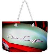 Chris Craft Illusion Weekender Tote Bag