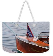 Chris Craft Runabout Weekender Tote Bag