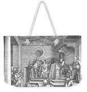 Christ Among The Doctors In The Temple 1503 Weekender Tote Bag