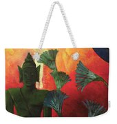 Christ And Buddha Weekender Tote Bag by Paul Ranson