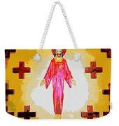 Christ And Crosses Weekender Tote Bag