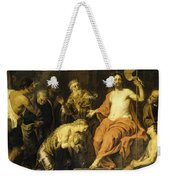 Christ And The Penitent Sinners Weekender Tote Bag