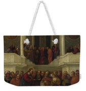 Christ And The Woman Taken In Adultery Weekender Tote Bag