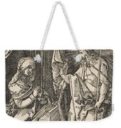 Christ Appearing To His Mother, From The Small Passion Weekender Tote Bag
