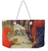 Christ Appearing To Mary Magdalene Fragment 1311 Weekender Tote Bag