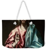 Christ As Saviour Weekender Tote Bag