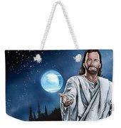Christ At Night Weekender Tote Bag