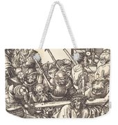 Christ Bearing The Cross Weekender Tote Bag