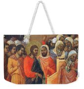 Christ Before Caiaphas Fragment 1311 Weekender Tote Bag