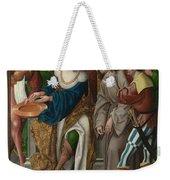 Christ Before Pilate Weekender Tote Bag