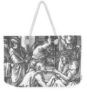 Christ Being Crowned With Thorns 1510 Weekender Tote Bag
